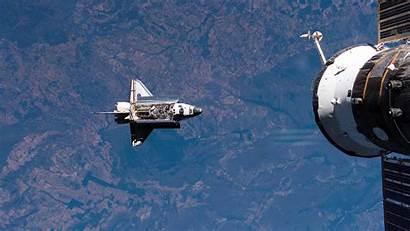 Nasa Space Shuttle Station Wallpapers Wallpaperup Orbit