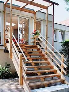 Erhöhte Terrasse Bauen : zimmerei fleck leistungsangebot treppen f r draussen garten pinterest ~ Orissabook.com Haus und Dekorationen