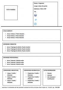 download gratis curriculum vitae europeo da compilare pdf merge modello curriculum da compilare modello curriculum
