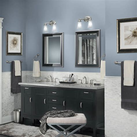ideas for painting bathroom walls 45 best paint colors for bathrooms 2017 mybktouch com