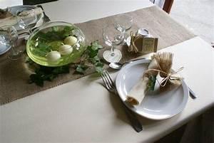 Table Mariage Champetre : d coration de table bougies flottantes lierre chemin ~ Melissatoandfro.com Idées de Décoration