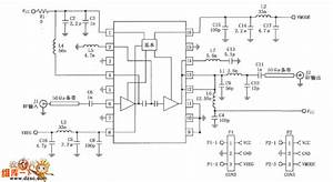 380mhz Linear Amplifier Circuit Composed Of Rf2175