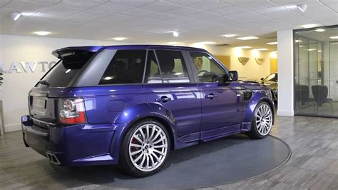range rover purple range rover sport onxy purple black lawton brook youtube