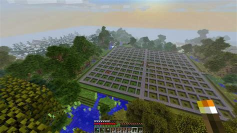 minecraft     awesome tree farm  house part  youtube
