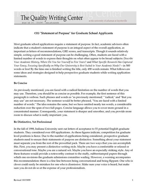 Personal Statement For Admin Sles by Master Of Business Administration Graduate School Mba