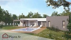 Maison Architecte Plain Pied : titanium maison contemporaine de plain pied ~ Melissatoandfro.com Idées de Décoration