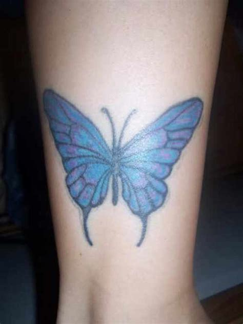 charming ankle butterfly tattoos  designs