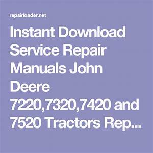 Pin On Service Repair Manuals
