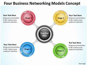 Business Network Diagram Networking Models Concept