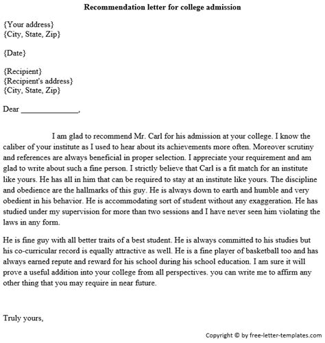 14356 college admissions essay format heading exle college recommendation letter 9 free word excel pdf format