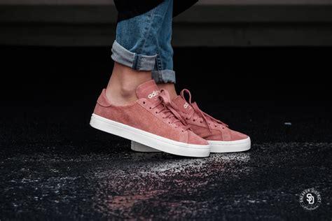 adidas womens court vantage ash pinkoff white ash pink cq