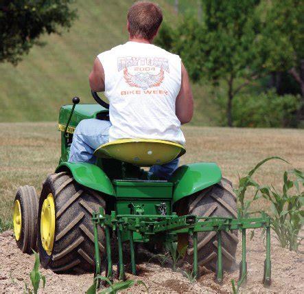 garden implements collectible garden tractor implements tractors farm collector