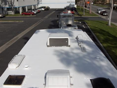 The Ultimate Rv Roof Guide Read This Before Doing Anything Mile High Roofing Prescott Az Dicor Rubber Roof Acrylic Coating System Garden Restaurant Kensington Menu Joe Ochoa Inc Houston Tx Truss Framing Details Metal Panel Shear Rooftop Gardens How To Fix A On Trailer House