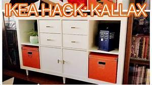 Ikea Kallax Hack : ikea kallax hack easy diy youtube ~ Markanthonyermac.com Haus und Dekorationen