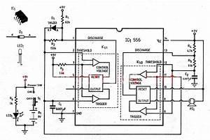 Insects And Mouse Repellent Circuit Using Ic556