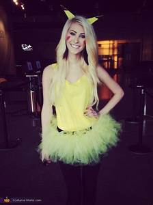 Cute & Girly Pikachu Costume   Homemade, For women and ...