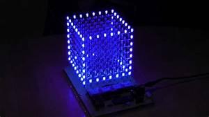 Led-cube 8x8x8