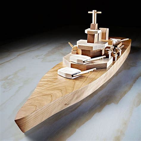 mil spec iowa class battleship woodworking plan  wood