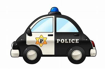 Police Clipart Cartoon Clip Cliparts Cars Transparent