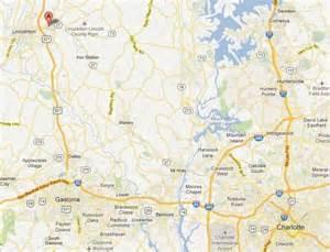North Carolina Map Charlotte NC