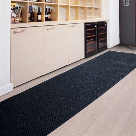 grand tapis de cuisine tapis cuisine amortissant résistant anthracite
