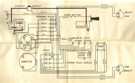Ford Truck Coil Wiring by Model T Correct Wiring Diagram Advertising Ford Ford