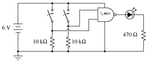 difference  logic gates  integrated