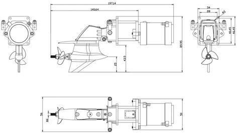 Rc Boat Part Diagram by Outboard Motor Dimensions Impremedia Net