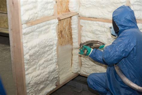 heres  spray foam  regulate  house temperature