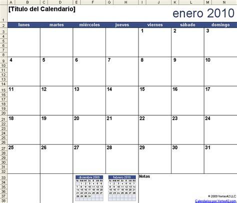 plantilla calendario gratis calendario ano