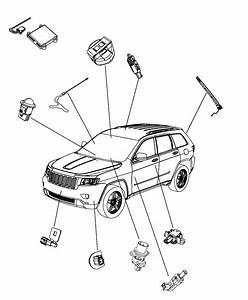 2014 Jeep Grand Cherokee Module  Rain Sensor   Rain
