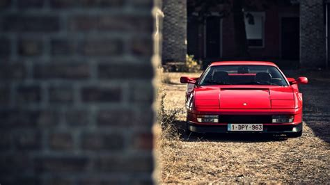 ferrari testarossa italian car wallpapers hd desktop