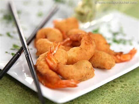 cuisine crevette beignets de crevettes recette de cuisine illustrée meilleurduchef com