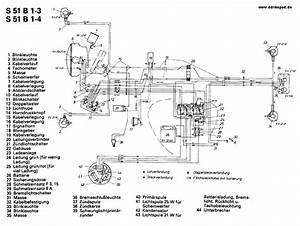 Simson S 50    S 51 Schaltpl U00e4ne