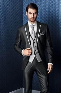 Costume Pour Homme Mariage : costume pour homme mariage 2017 new arrival slim fit charcoal wedding suit groom tuxedos ~ Melissatoandfro.com Idées de Décoration
