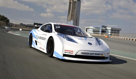 nissan nismo race car nissan gives update on leaf nismo rc electric racer video