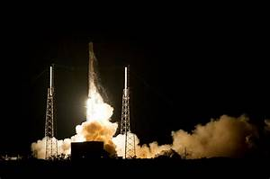 SpaceX launches Dragon to space station as rocket targets ...