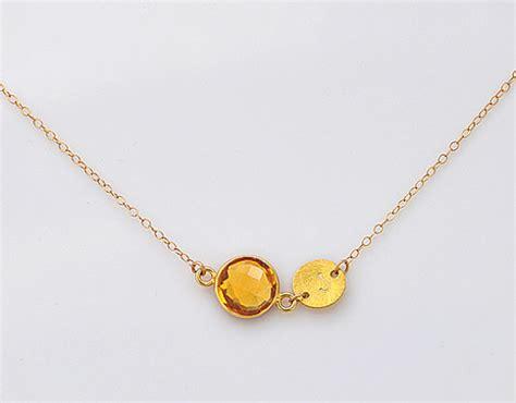 november birthstone jewelry custom november birthstone necklace by daniquejewelry on etsy
