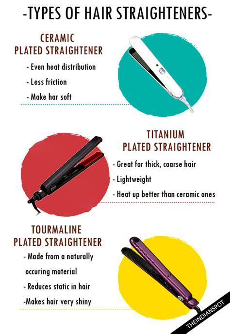 Choosing The Best Hair Straightener  Types Of Hair