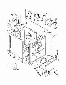 Kenmore Model 11064202200 Residential Dryer Genuine Parts