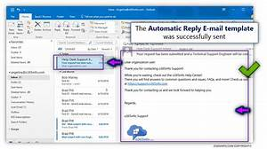 auto reply email template - setting up an automatic reply in office 365 using mailbox