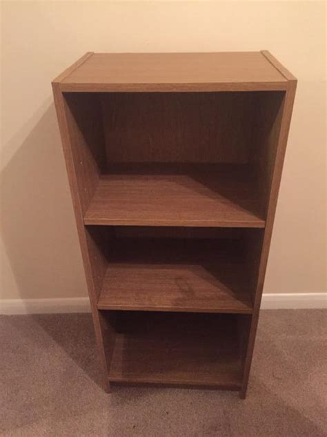 Small Thin Bookcase by Small Bookcase Oak Effect West Bromwich Dudley