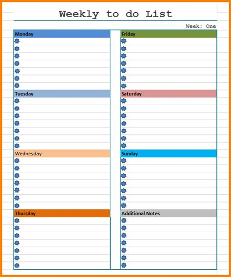 To Do List Book Template by планер на день планер на неделю To Do List Dayly
