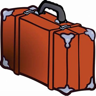 Luggage Suitcase Clipart Clip Cliparts