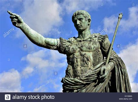 Caesar Augustus, The First Emperor Of Ancient Rome. Bronze