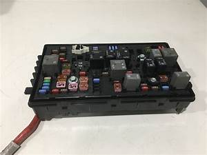 Chevrolet Impala Under The Hood Fuse Relay Box Oem