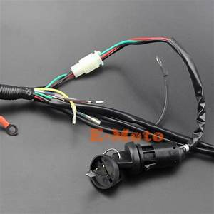 Full Wiring Harness Loom Solenoid Coil Regulator Cdi Ngk