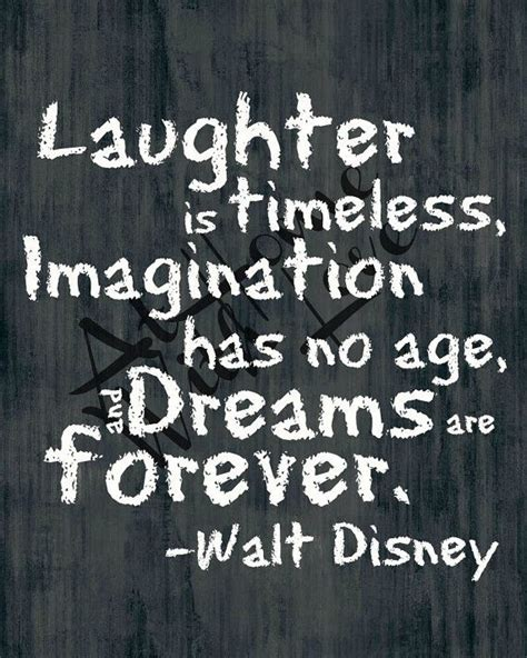 laughter is timeless walt disney quote by athomewithlove on etsy quotable walt