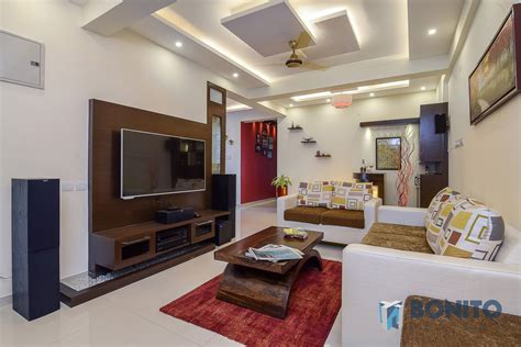 Home E Interiores : Mithun Goyal's 3bhk Home Interiors At Eden Gardens