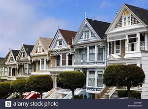 Häuser In Amerika : viktorianische h user distelfalter alamo square in san francisco kalifornien usa amerika ~ Markanthonyermac.com Haus und Dekorationen